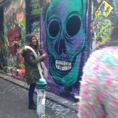 Graffiti lane was amazing